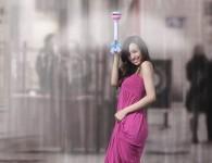 Air Umbrella, le parapluie publicitaire sans toile
