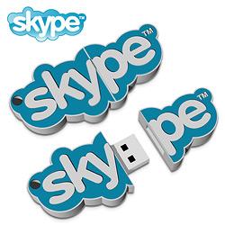 clé USB publicitaire SUR MESURE 2D 2