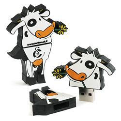 clé USB publicitaire SUR MESURE 2D 3