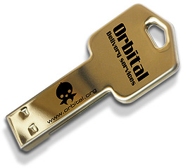 clé USB publicitaire clé2