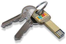 clé USB publicitaire clé3