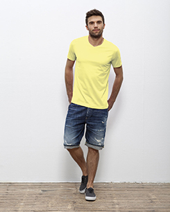 tee-shirt-publicitaire-M524_ST_Expects_Sunny-Lime