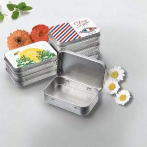 Une boite métal personnalisé pour votre savon de Marseille