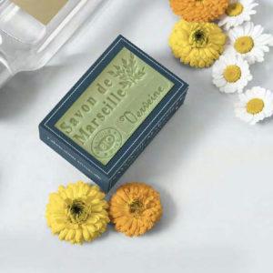 Habillez votre savon de Marseille avec cet étui en carton à vos couleurs
