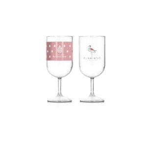 Des verres à pied personnalisables